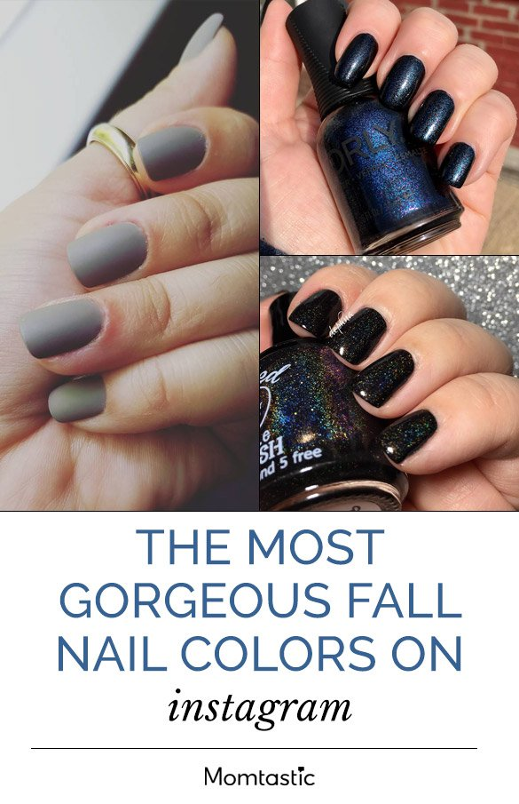 The Most Gorgeous Fall Nail Colours On Instagram