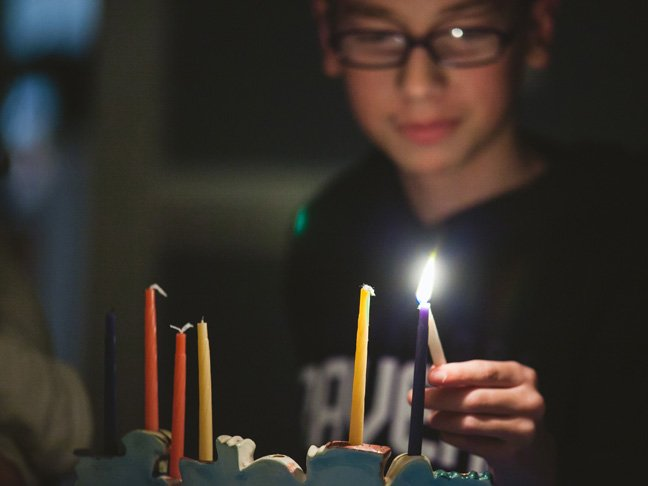 My Jewish-Catholic Family Celebrates Both Hanukkah & Christmas