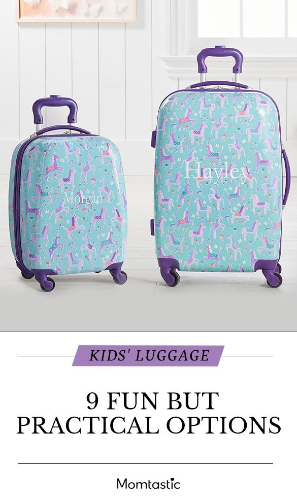 Kids Luggage 9 Fun Options That Are Practical Too