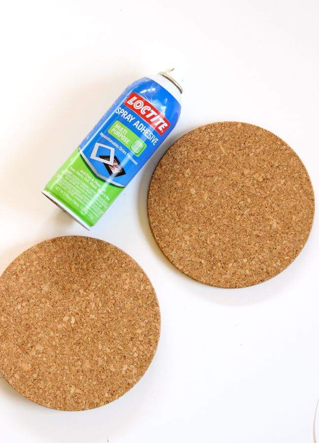 round-cork-and-spray-adhesive