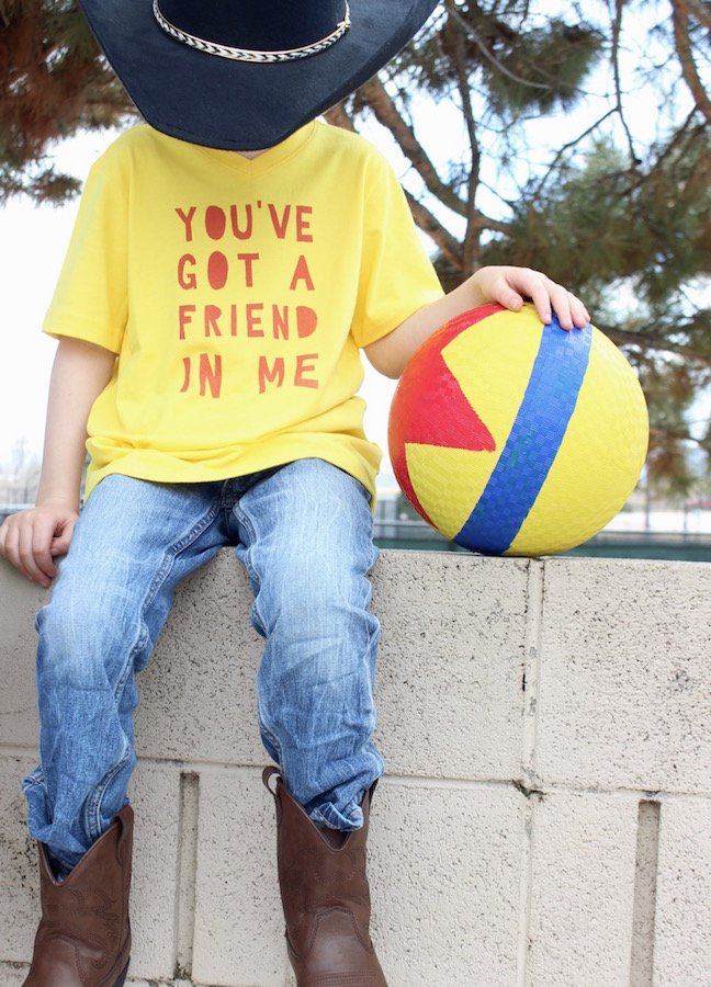 DIY Toy Story T-Shirts