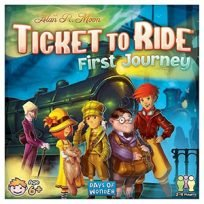 board games for kids: ticket to ride