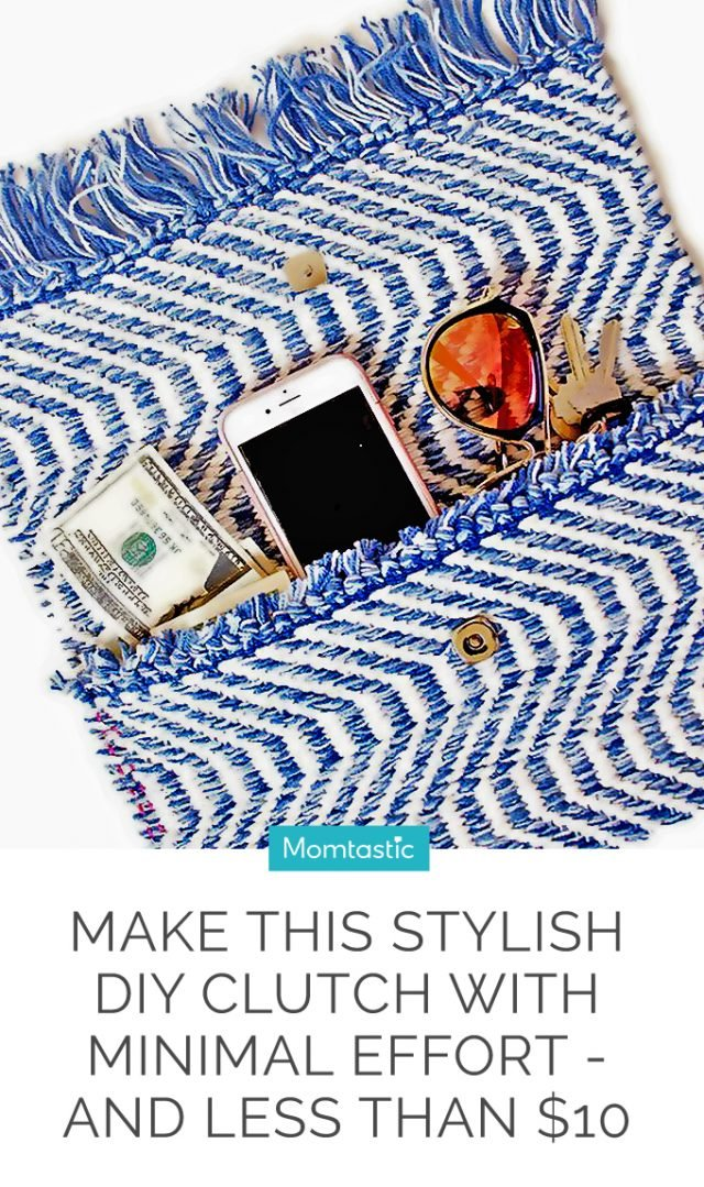Make This Stylish DIY Clutch With Minimal Effort—and for Less Than $10