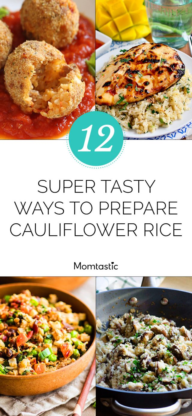12 Super Tasty Ways to Prepare Cauliflower Rice