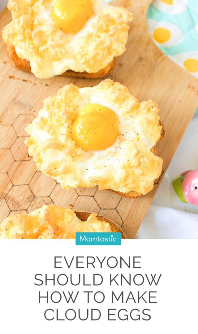 Everyone Should Know How to Make Cloud Eggs