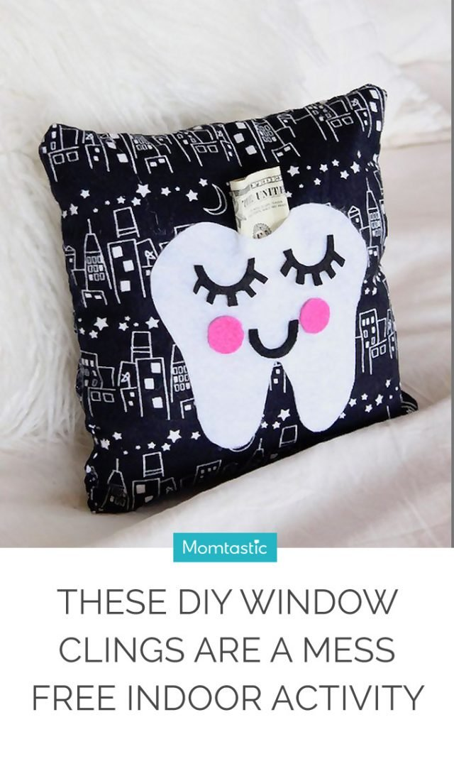 This DIY Tooth Fairy Pillow Is Cute, Quick and Easy