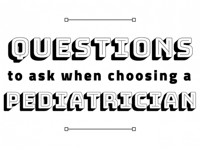 Questions to Ask When Choosing a Pediatrician by @letmestart on @itsMomtastic