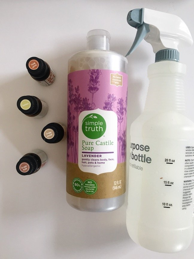 How To Make All Natural Cleaning Products With Essential Oils