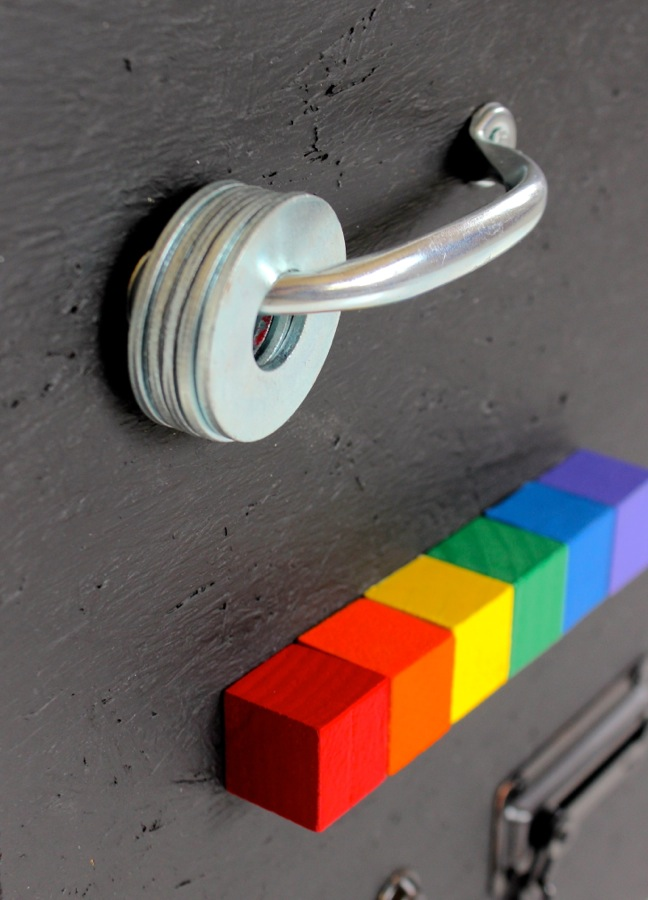 rainbow-blocks-door-hardware-on-a-busy-board