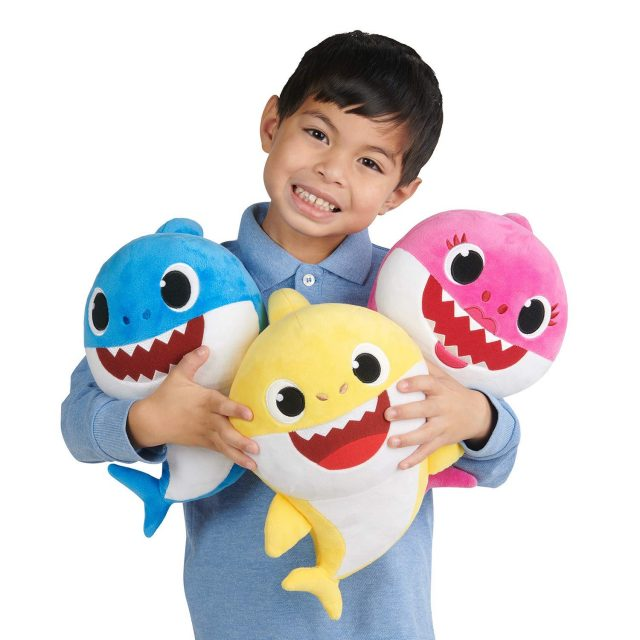 Baby Shark Plushes are now available at Amazon…Doo-Doo-Doo-Doo-Doo-Doo