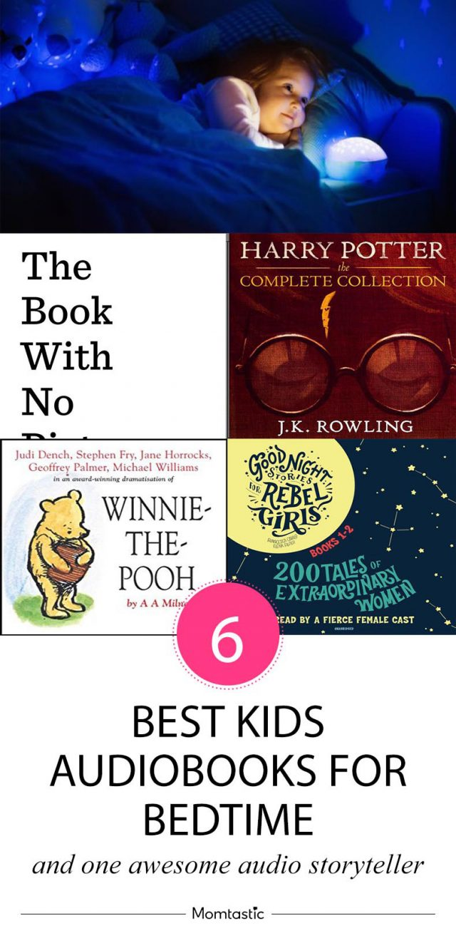 Best Kids Audiobooks for Bedtime