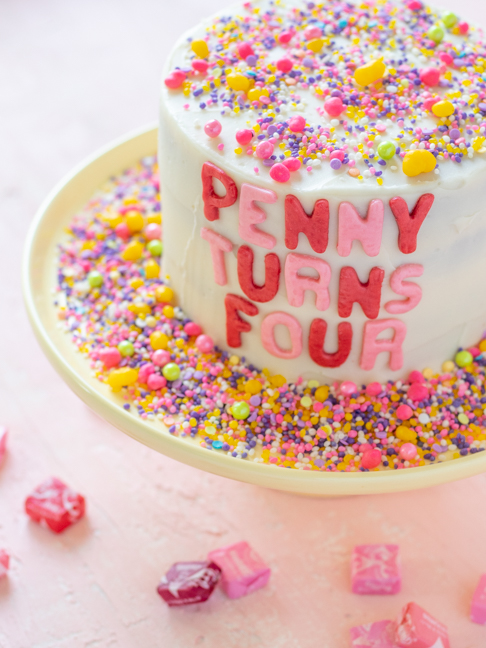 Make Personalized Cake Decorations with Candy for Fun Birthdays
