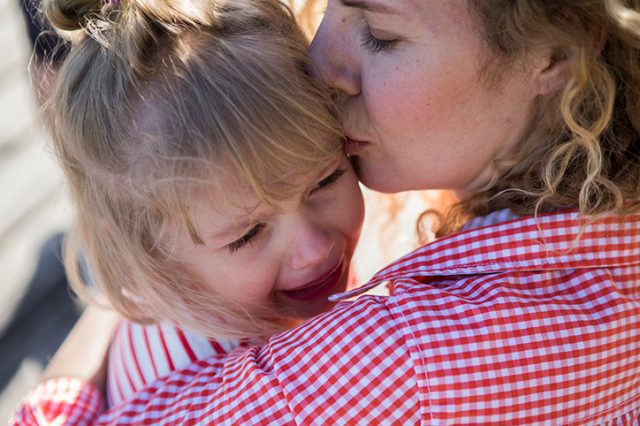 I Couldn't Leave My Crying Daughter at Preschool Drop-Off
