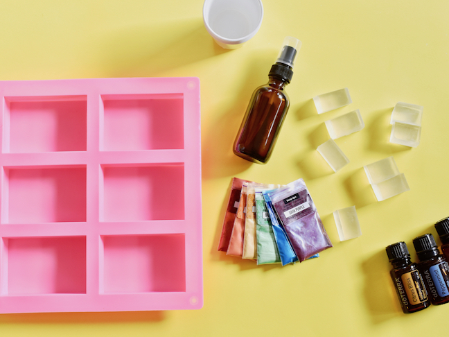 We're Totally Over The Rainbow For This DIY Rainbow Soap