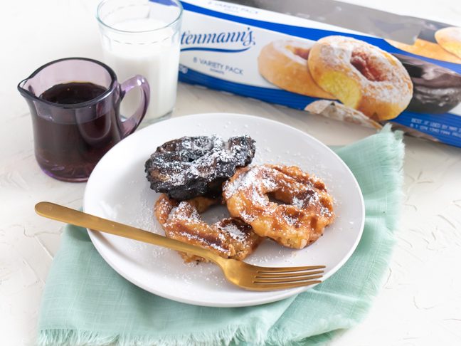 Crispy Waffle Donuts When You Just Can't Cook Another Meal