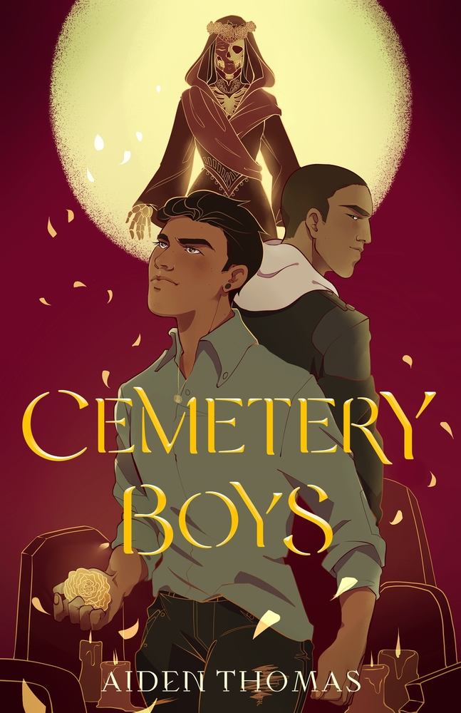 How to Make Sure Your Kids Have a Diverse Bookshelf (and Actually Read from It) @letmestart on @itsMomtastic | Raising readers, kind kids, and encouraging empathy. Featuring the book Cemetery Boys by Aiden Thomas