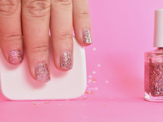 Skip The Nail Salon: Here's The Secret For The Best Glitter Nail Polish At Home