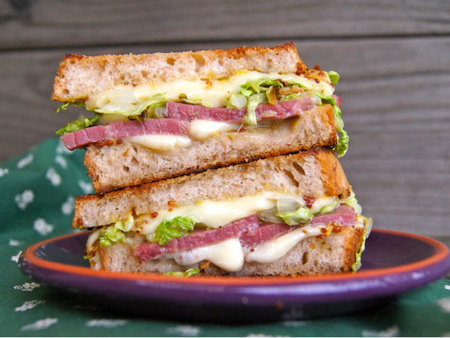 (A Twist on) Corned Beef Sandwiches