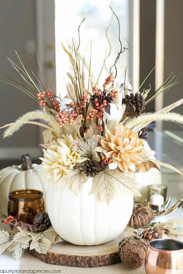 10 Simple Stylish Diy Fall Centerpieces