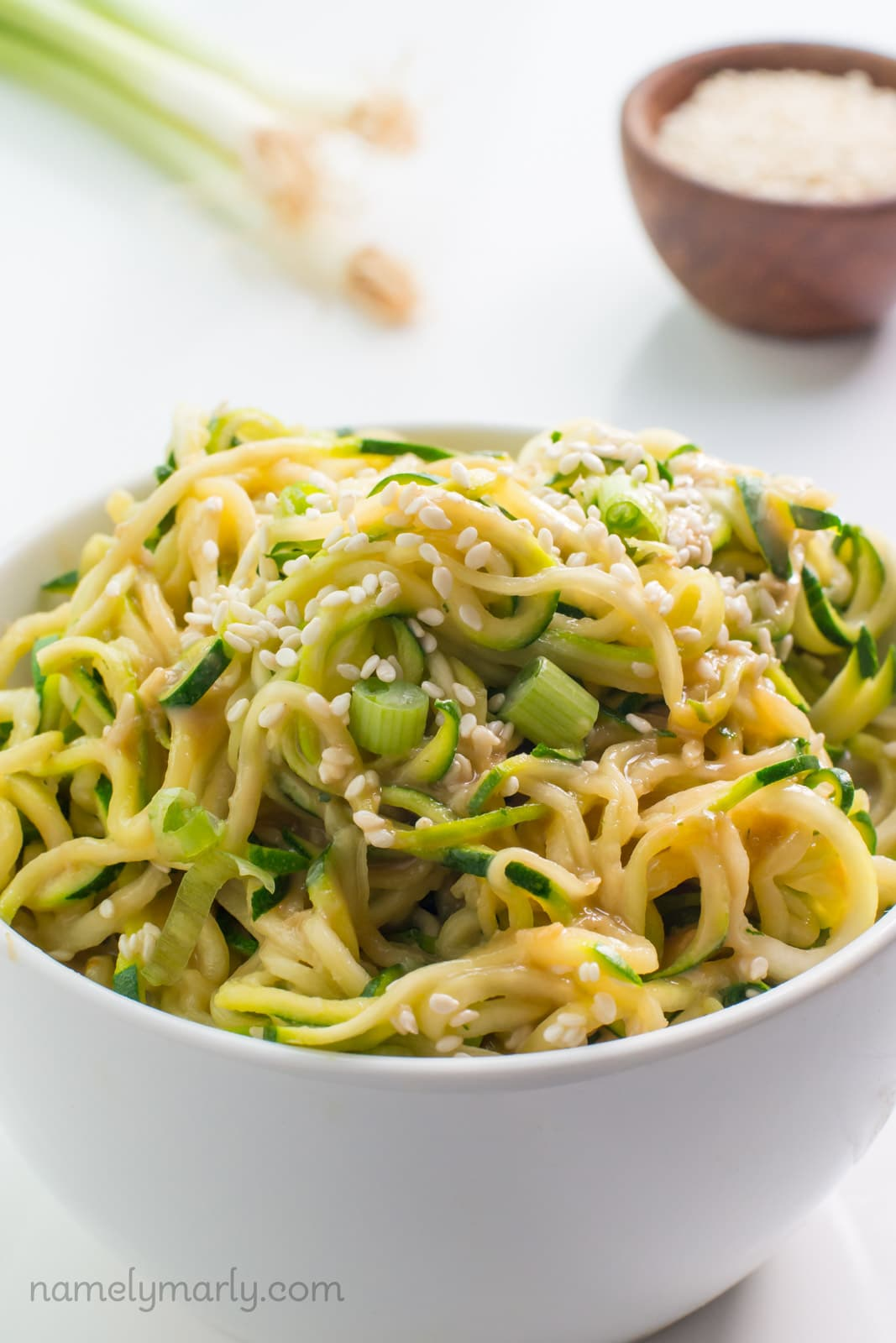 Sesame Zoodles