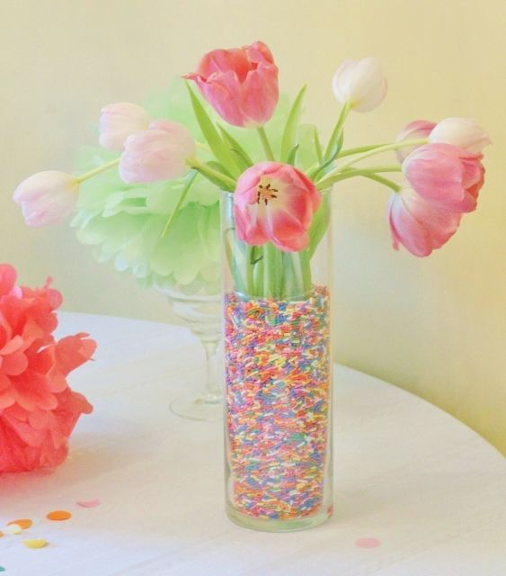 Good Sprinkled Vase