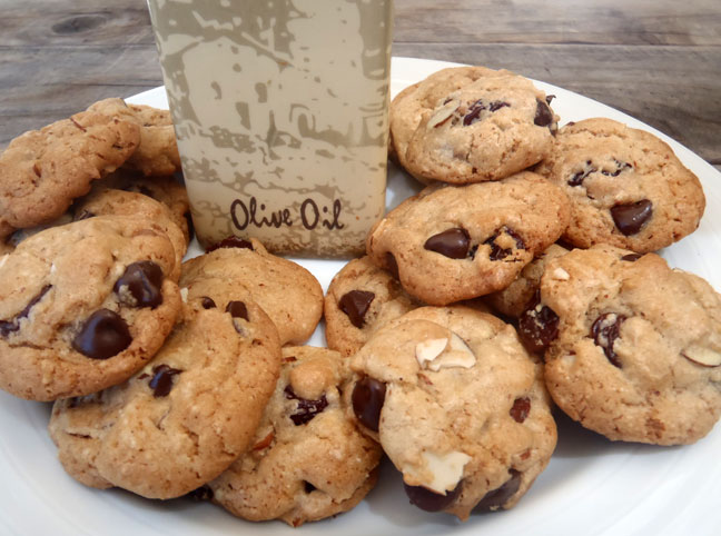 olive oil chocolate chip cookies olive oil chocolate chip cookies ...