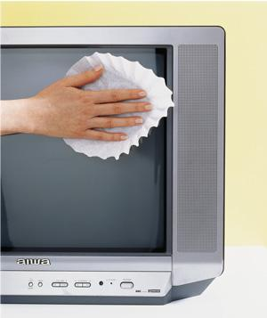 Clean Your Electronics Screens With a Coffee Filter