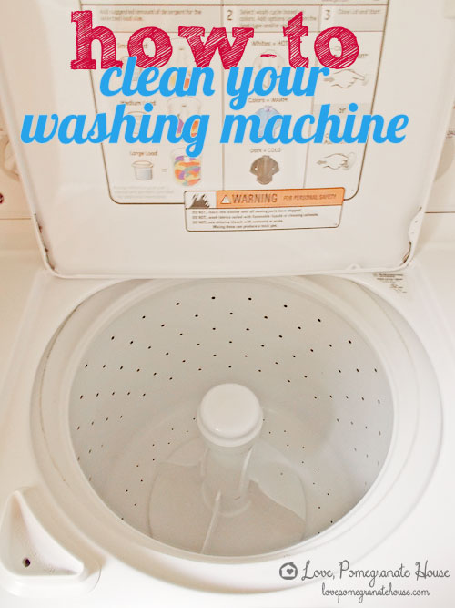 Clean Out an Old Washing Machine