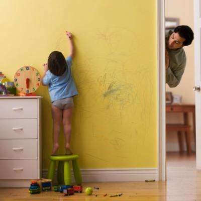 Clean Crayons off Your Walls with Toothpaste