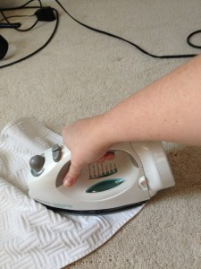 Get Rid of Stains With an Iron