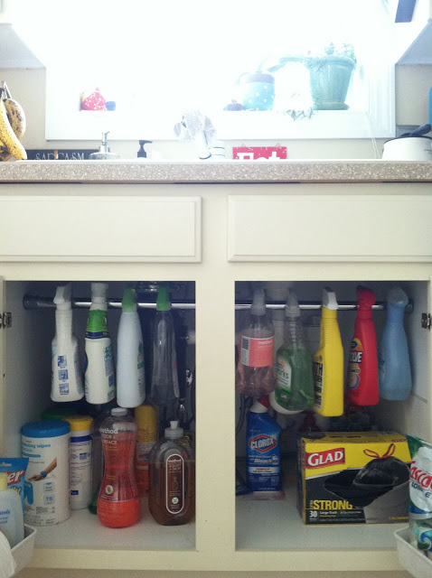 Clear Out Space Under Your Sink With a Rod