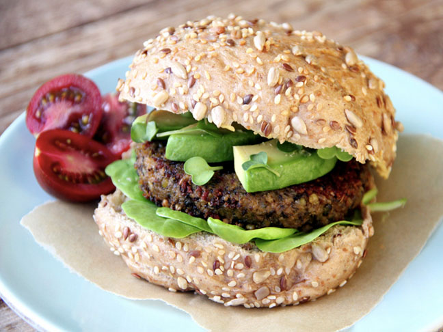 Try These Lentil Pumpkin Burgers