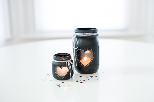 Cute Heart Candle Holders