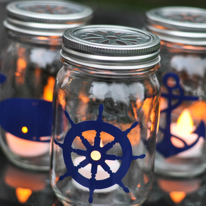 Outdoor Living: Make Some Seasonal Nautical Lights