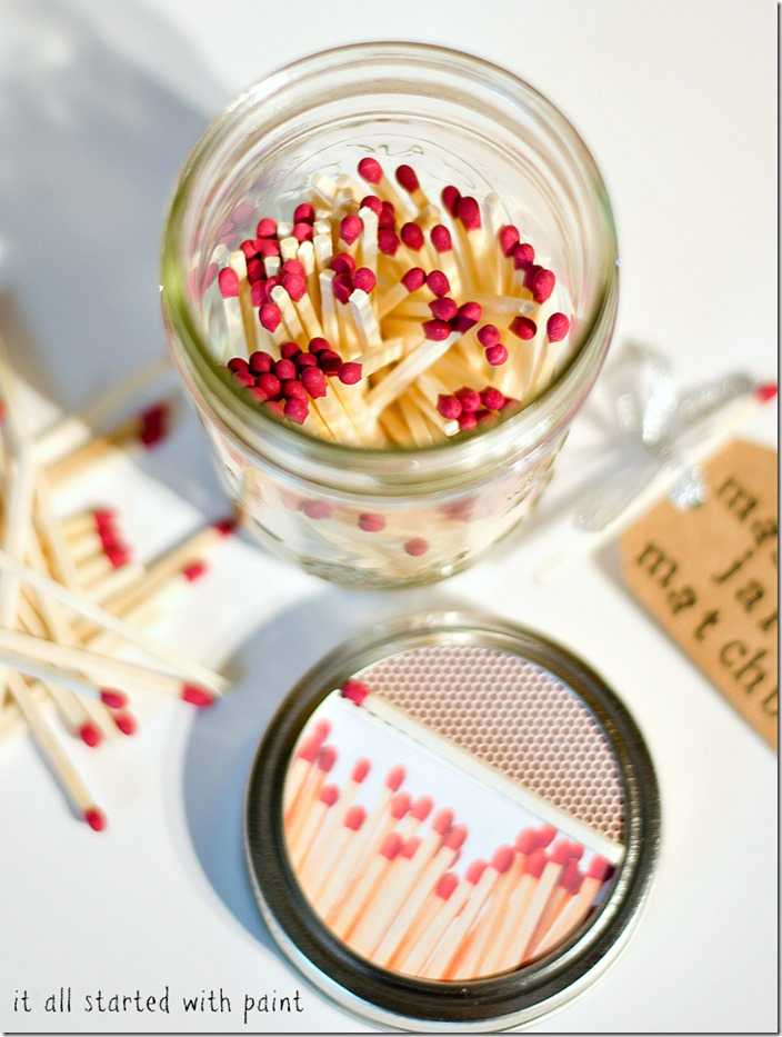 Make Some Handy Matches in a Jar