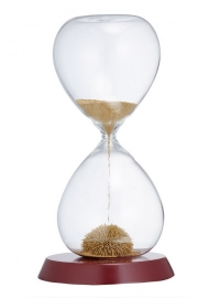 Australian Geographic Gold Magnetic Sand Timer