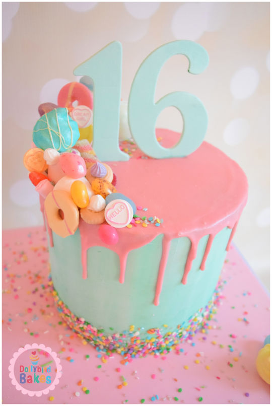 Superb 11 Super Sweet 16 Cake Ideas Your Teen Will Love Personalised Birthday Cards Sponlily Jamesorg