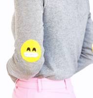 Emoji Elbow Patches