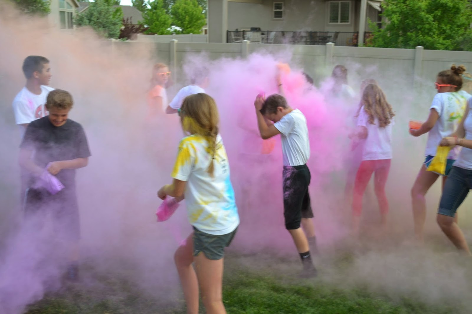 Color War Party Game