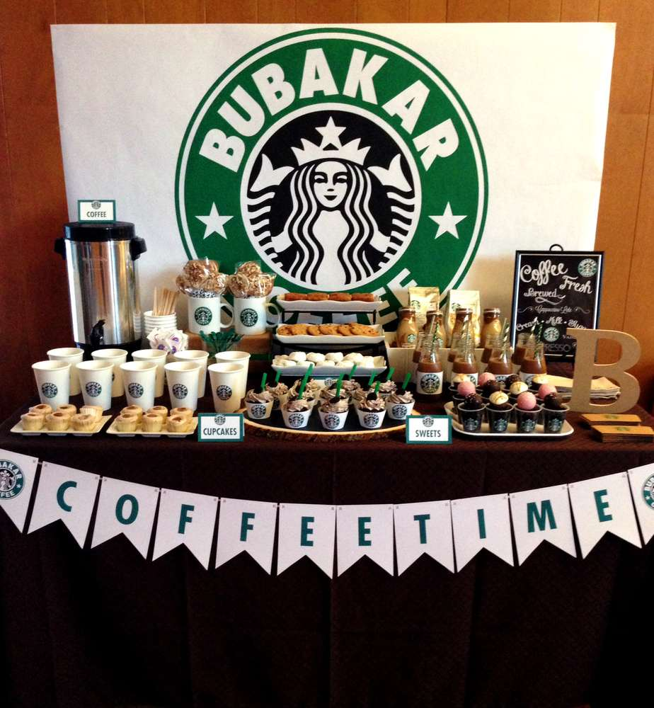 Starbucks Dessert Bar
