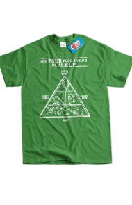 Elf Food Groups Tee