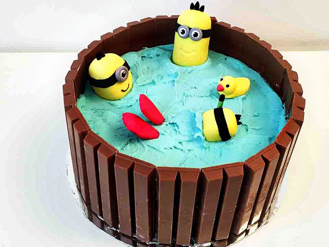 Pleasant 15 Easy To Make Minions Cupcakes Cakes Funny Birthday Cards Online Elaedamsfinfo