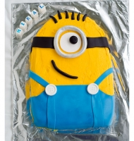 Decorated Minion Sheet Cake