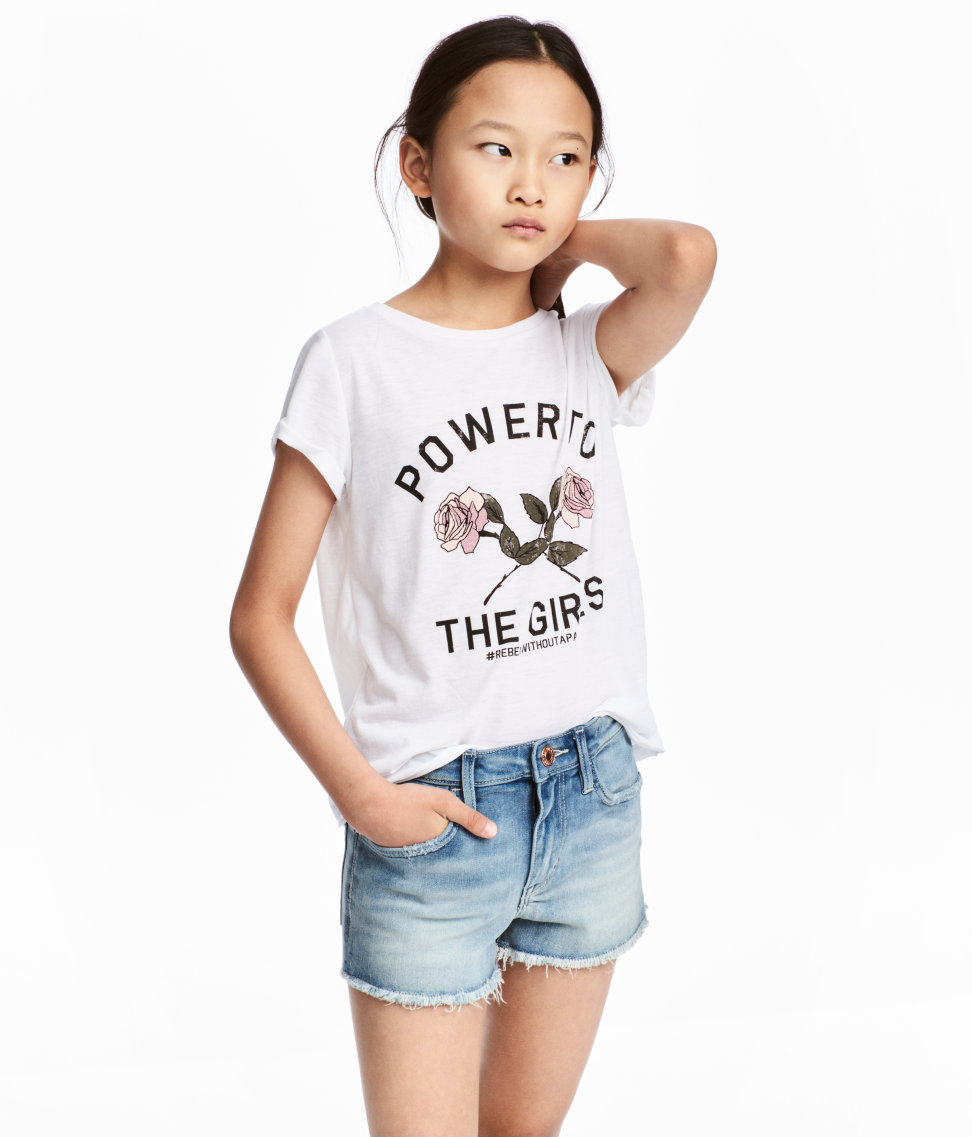 Girls' Power Tee