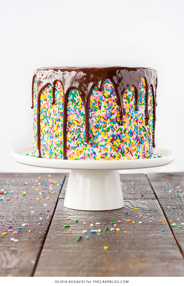 Easy Cake Decorating With Sprinkles : 41 Easy Birthday Cake Decorating Ideas That Only Look ...