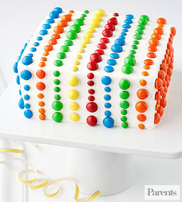Make a Pattern With Candy Pieces
