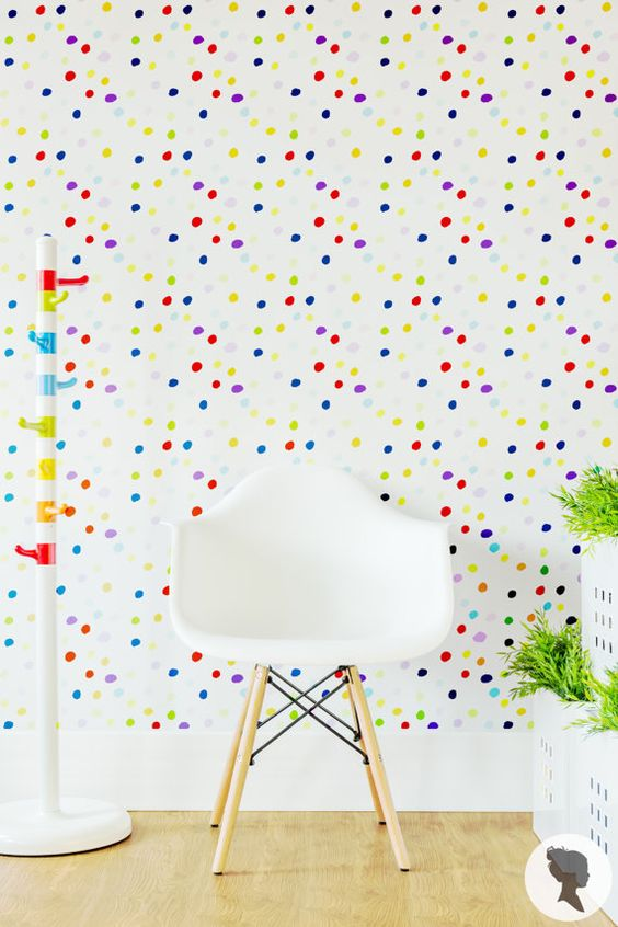 . Create A Super Stylish Kid s Room  21 Modern Removable Wallpaper Ideas