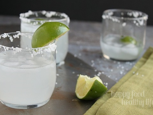 3-Ingredient Skinny Margaritas