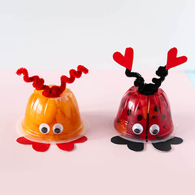 Love Bug Fruit Cup Valentines