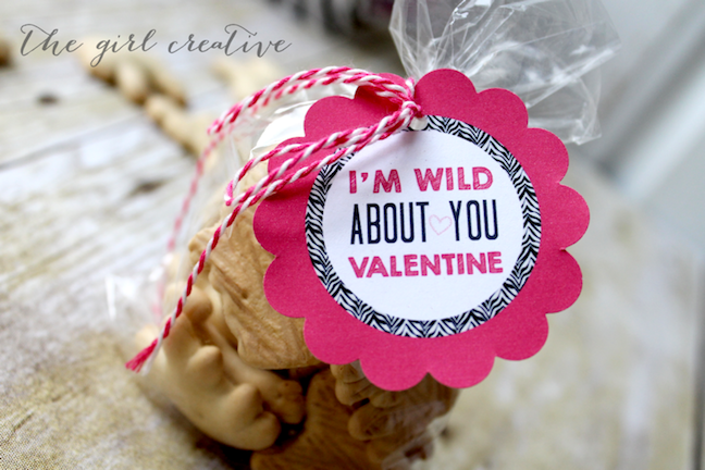 Animal Cracker Valentines
